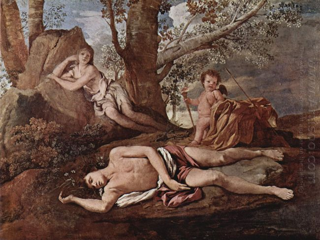 Echo And Narcissus 1630