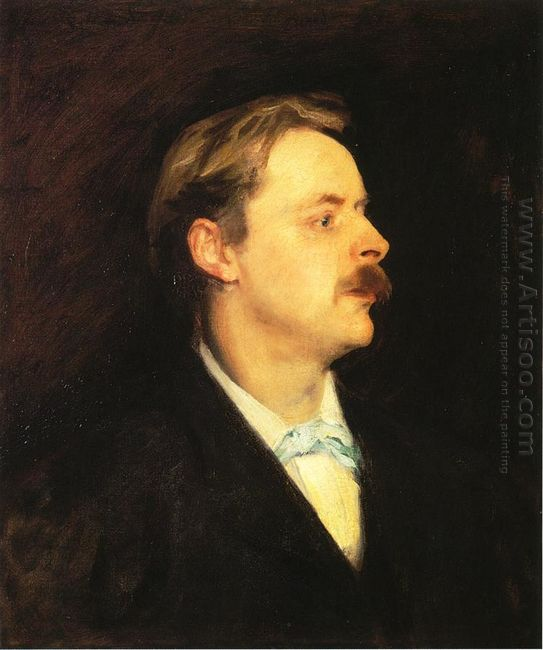Edmond Gosse 1886