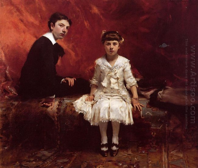 Edouard And Marie Louise Pailleron 1881
