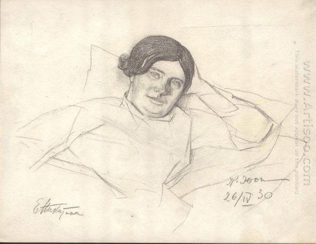 E F Nikitina 1930