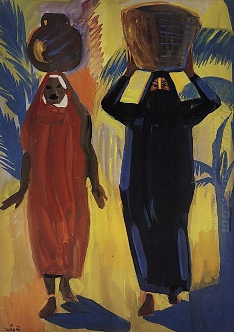 Egyptian Women 1912