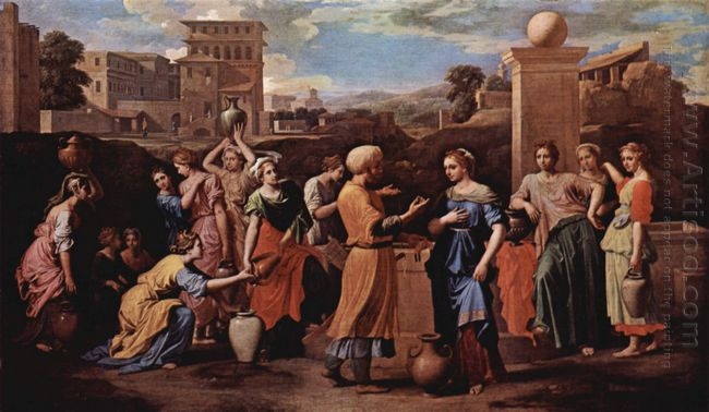 Eliezer And Rebecca At The Well 1648
