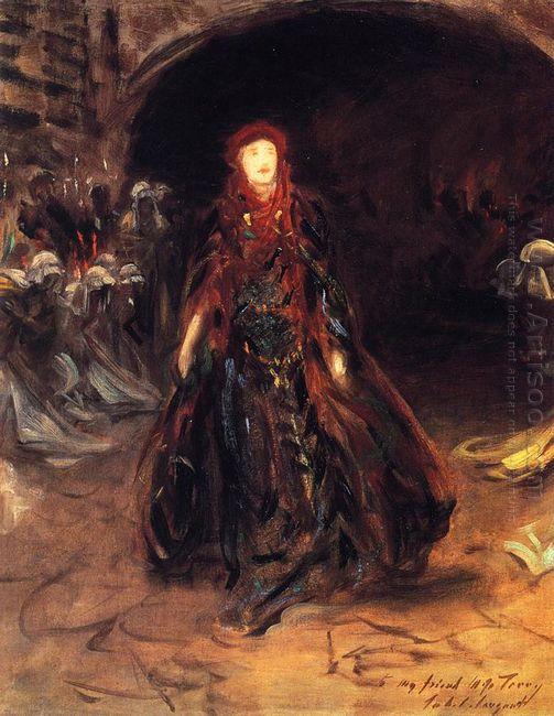 Ellen Terry As Lady Macbeth 1889