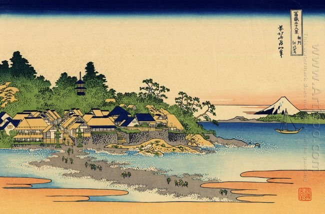 Enoshima In The Sagami Province