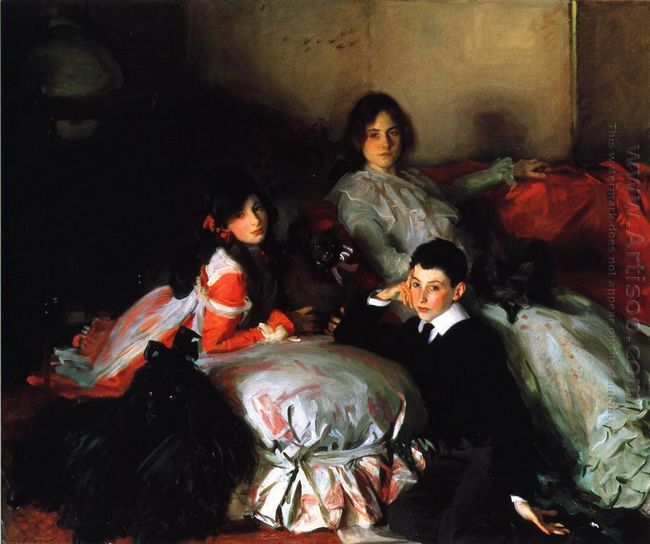 Essie Ruby And Ferdinand Children Of Asher Wertheimer 1902