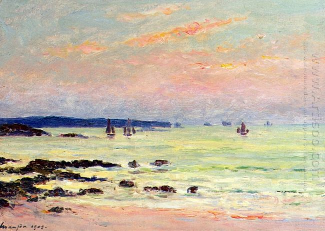 Evening At The Sea 1909