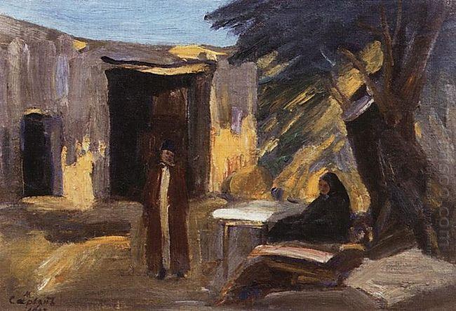 Evening In The Garden 1903