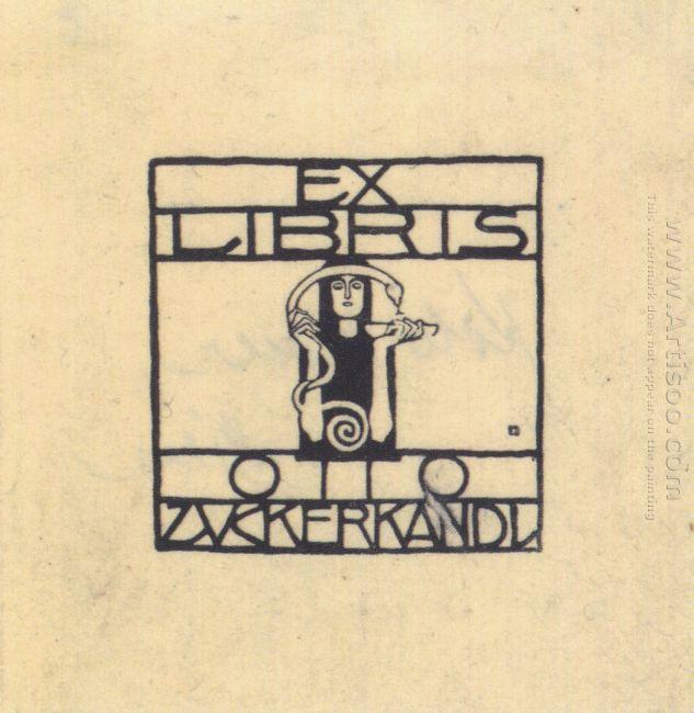 Exlibris For Otto Zuckerkandl 1906