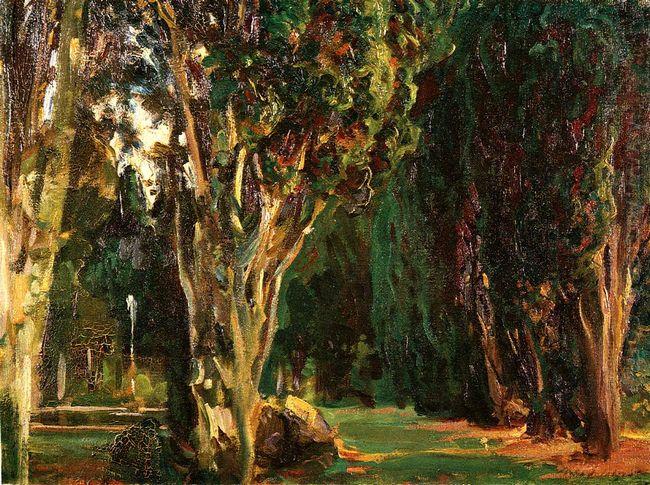Falconieri Gardens Frascati 1907