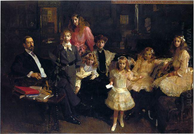 Family Eratruriz 1905
