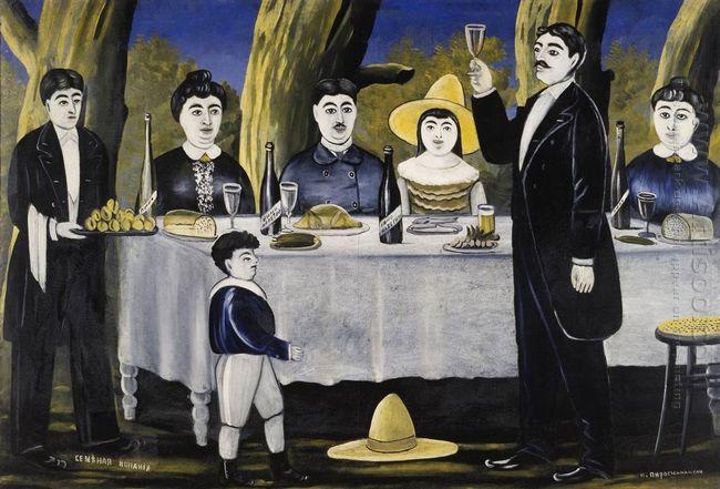 Family Feast 1907
