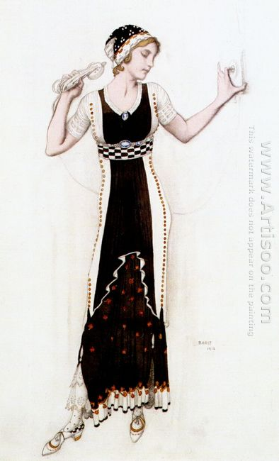 Fantasy On Modern Costume Atalanta 1912