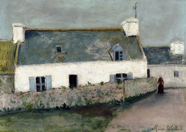 Farm On L Ile D Ouessant Finistere