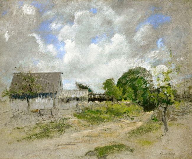 Farm Scene 1891