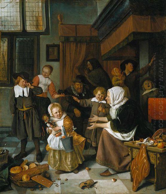 Feast Of St Nicholas 1665