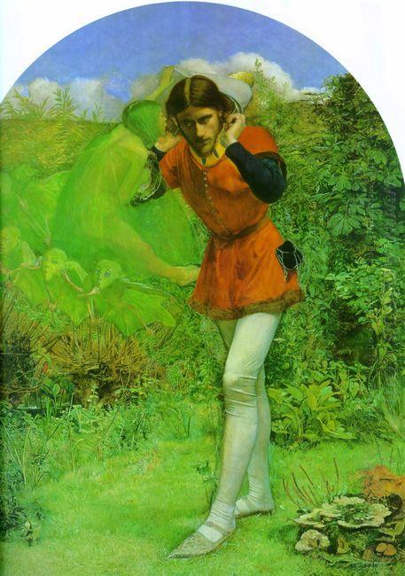 Ferdinand Lured By Ariel 1850