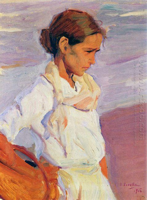 Fisherwoman From Valencia 1916