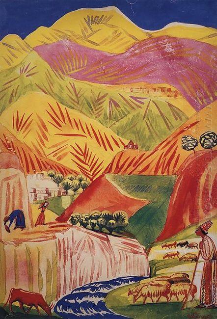 Flamboyant Landscape 1933