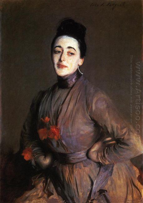 Flora Priestley 1889