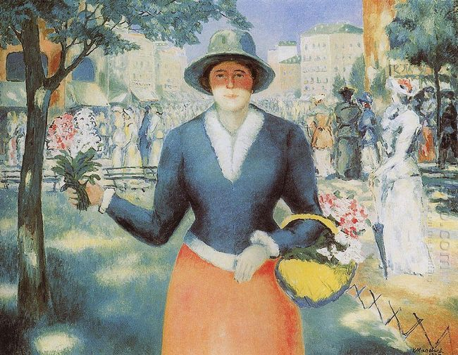 Flowergirl 1930