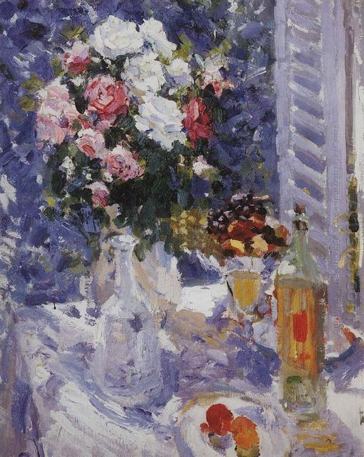 Flowers And Fruit 1912