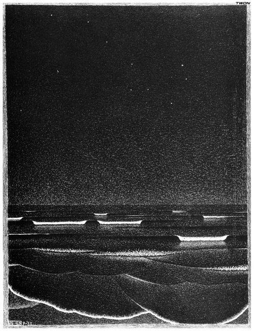 Fluorescent Sea