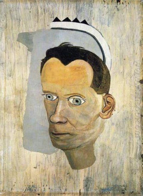 Fragment Head Of Gerald Wilde 1943
