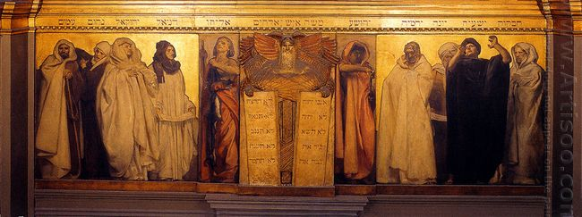 Frieze Of Prophets 1895