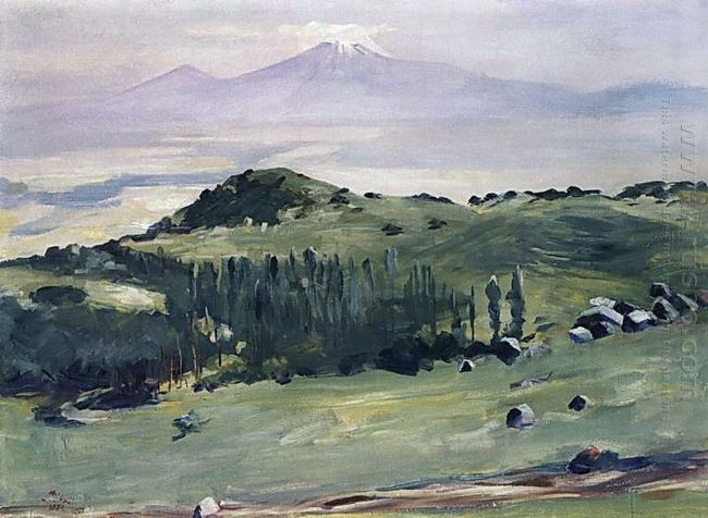 From The Aragats Slopes 1951
