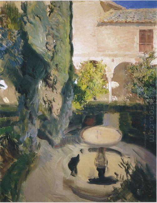 Garden Of Lindaraja 1909