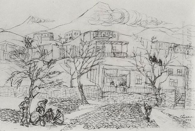 Gardens And Ararat 1937