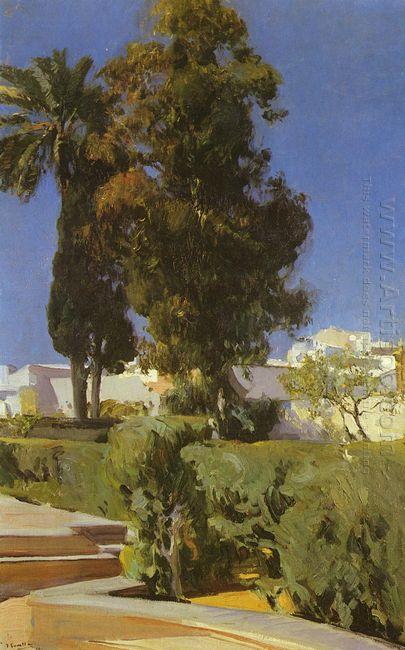 Gardens Of Alcazar Sevilla 1910