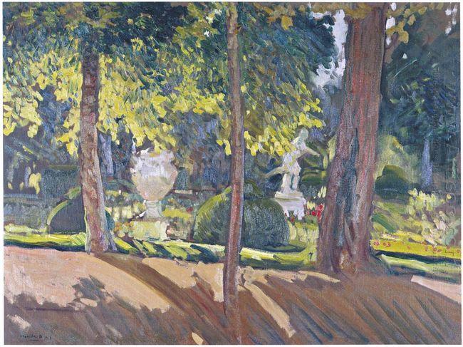 Gardens Of La Granja 1907