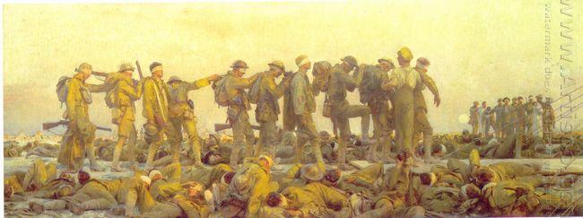Gassed 1918