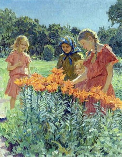 Gathering The Flowers