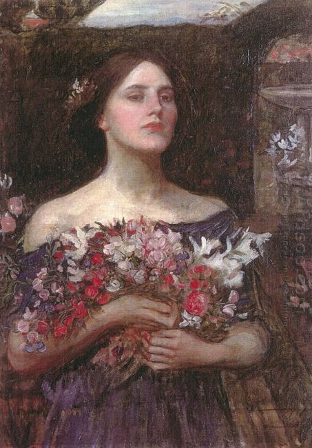 Gather Ye Rosebuds Or Ophelia 1908