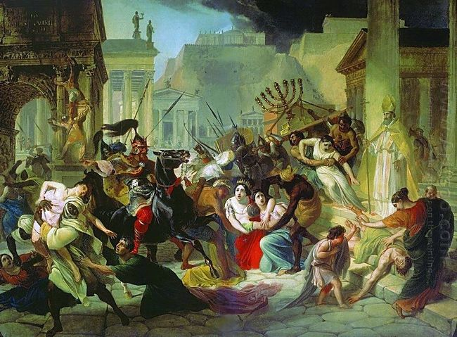Genserich S Invasion Of Rome 1835