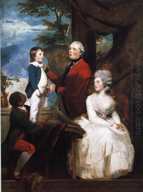 George Grenville Earl Temple Mary Countess Temple And Their Son