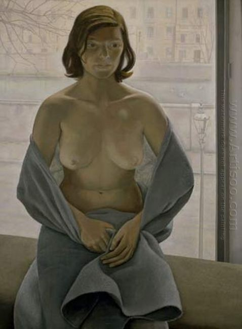 Girl In A Blanket 1953