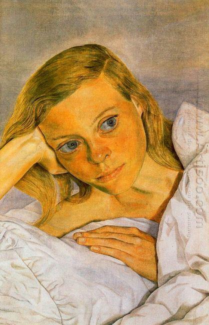 Girl In Bed 1952