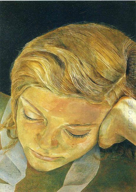 Girl Reading 1952