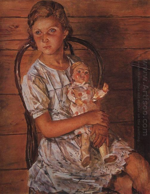 Girl With A Doll 1937