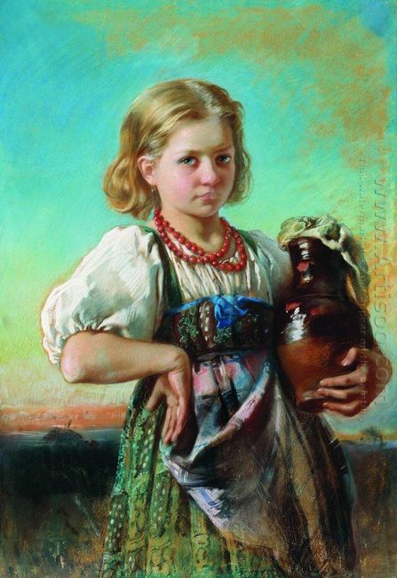 Girl With Jug