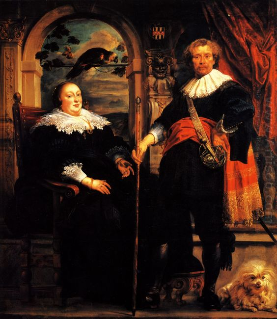 Govaert Van Surpele And His Wife 1639