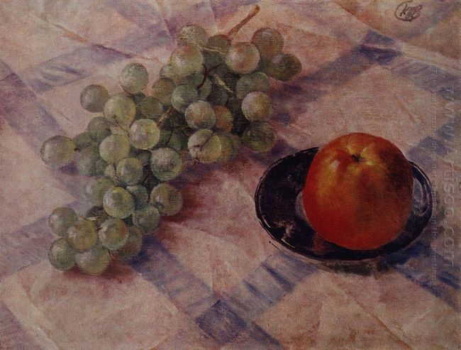 Grapes And Apples 1921