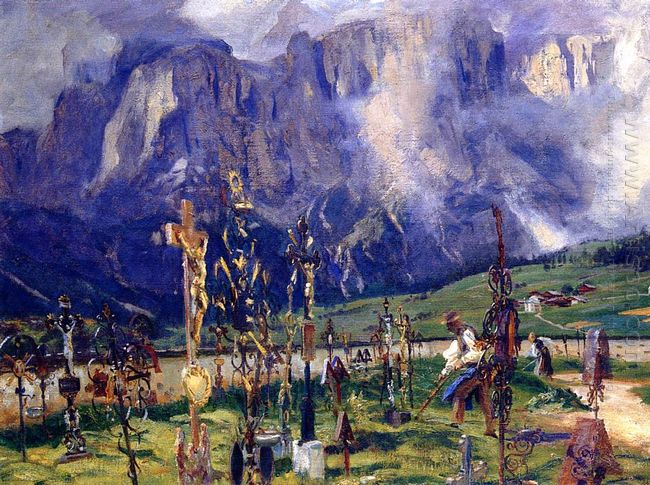 Graveyard In The Tyrol 1915