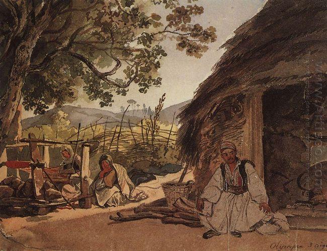 Greek Morning In Myraca