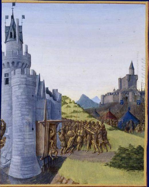 Guerre Entre Girard De Cazaubon Et Le Comte De Foix Reddition De