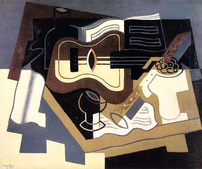 Guitar And Clarinet 1920