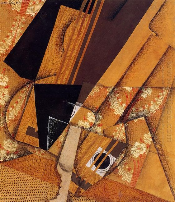 Guitar And Glass 1914